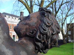 Conserving Outdoor Metal Sculpture Rupert Harris