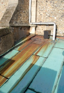 Copper Sheet Roofing