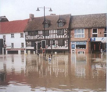 Flood Damage in Historic