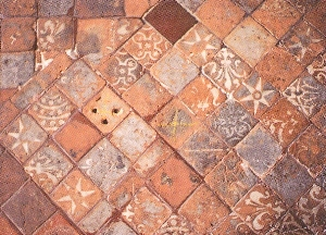The Manufacture of Replica Inlaid Medieval Floor Tiles