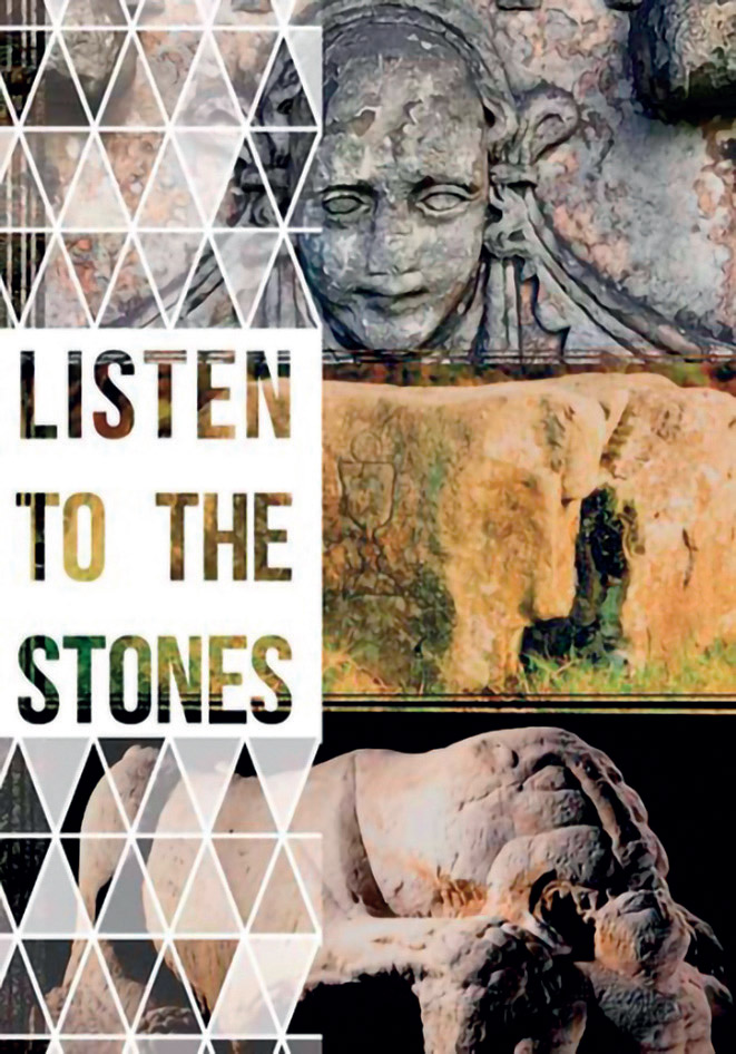 Cover of Listen to the Stones leaflet