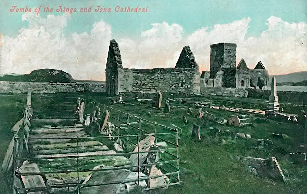 'Tombs of the Kings and Iona Cathedral'