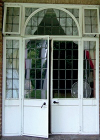 Wrought Iron And Steel Windows