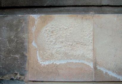 Salt Crystallisation In Masonry