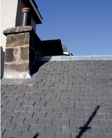 Repairing Scottish Slate Roofs