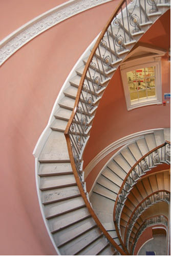 The Exhibition Staircase At Somerset House