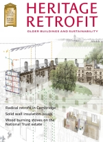 Cover of Heritage Retrofit magazine