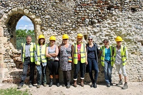 Trainees and volunteers at Grade II* listed St Margaret's Church