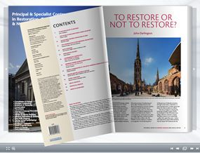 Digital flipping book edition of Historic Churches magazine 2016