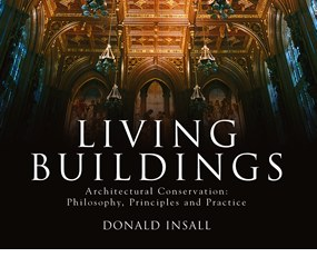 Cover of Living Buildings by Donald Insall